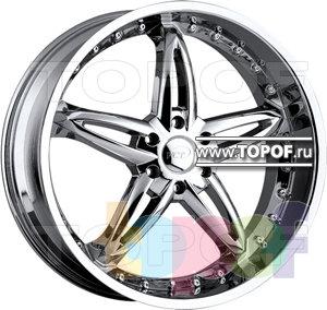Колесные диски VCT Wheel Bruno. Изображение модели #1