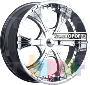 Колесные диски VCT Wheel Capone. Изображение модели #1