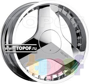 Колесные диски VCT Wheel G25. Изображение модели #1