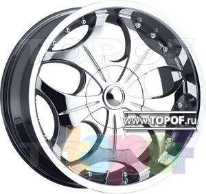 Колесные диски VCT Wheel Luciano. Изображение модели #1