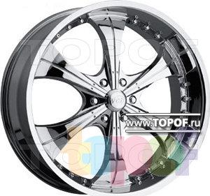 Колесные диски VCT Wheel Scarface. Изображение модели #1