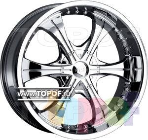 Колесные диски VCT Wheel Scarface 2. Изображение модели #1