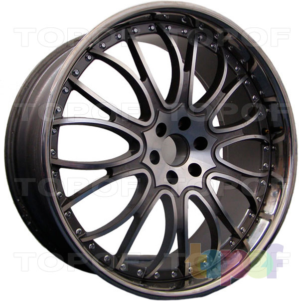 Колесные диски Vertini Fashion. Изображение модели #1