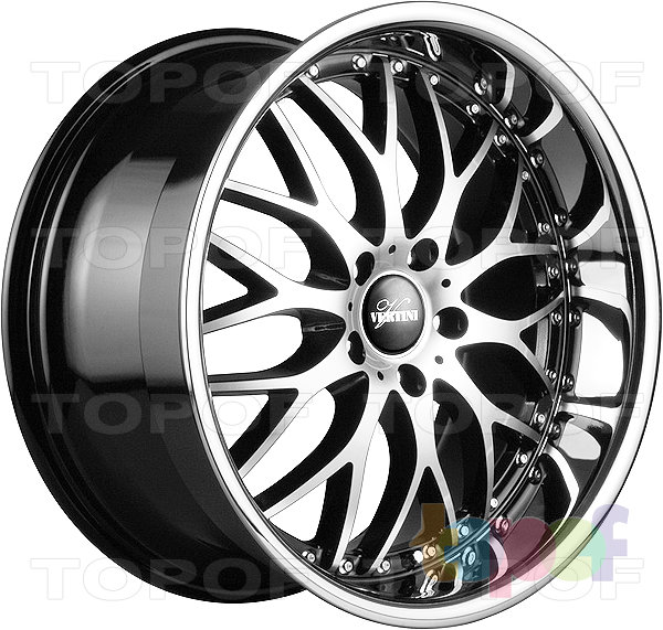 Колесные диски Vertini Riviera-S. Изображение модели #2