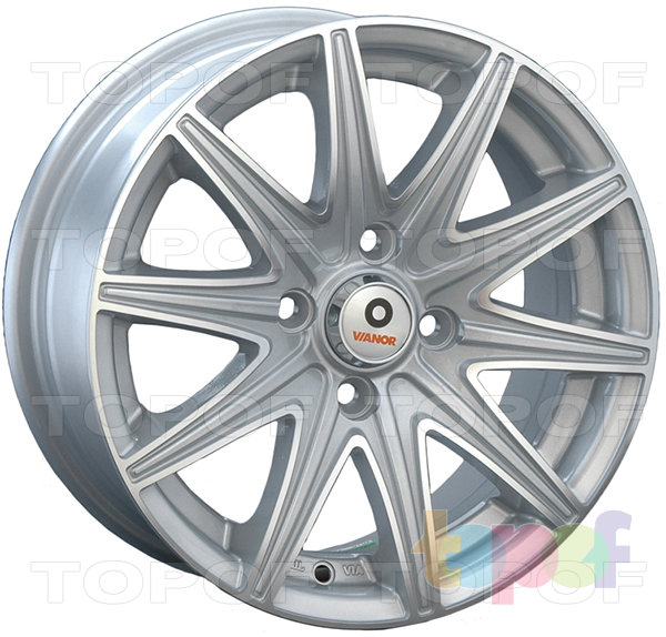 Колесные диски Vianor VR18. Изображение модели #1