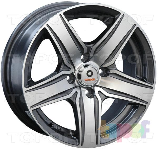 Колесные диски Vianor VR21. Изображение модели #1