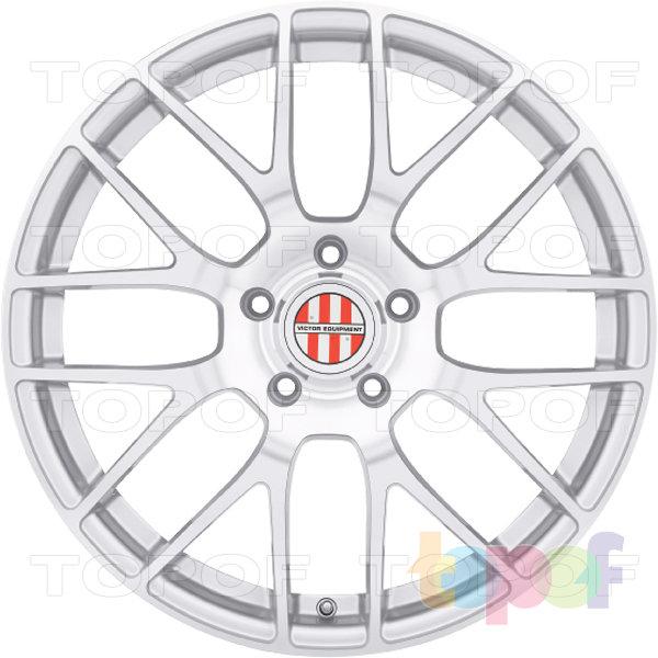 Колесные диски Victor Innsbruck. Цвет серебряный