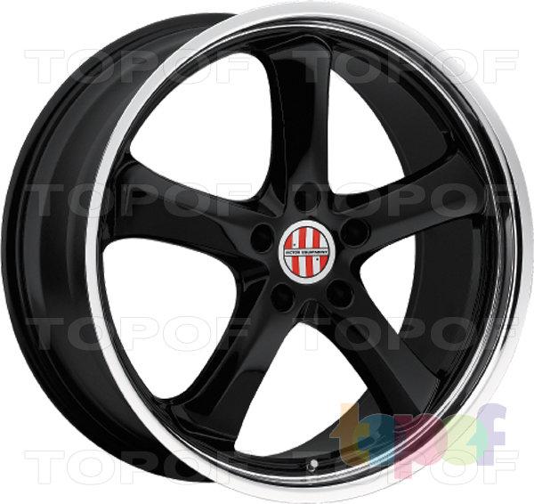 Колесные диски Victor Turismo. Черный