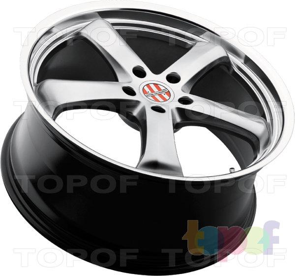 Колесные диски Victor Turismo. Серебрянный