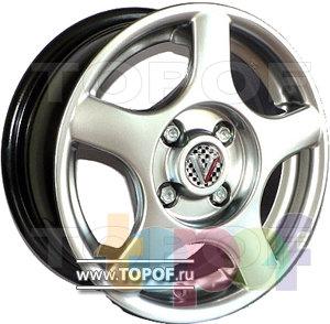 Колесные диски Виком АРТ 132. Изображение модели #1