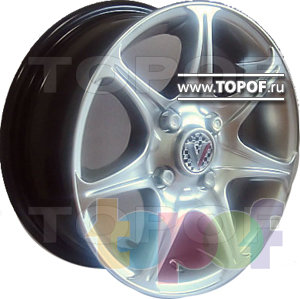 Колесные диски Виком АРТ 137. Изображение модели #1