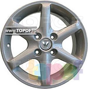 Колесные диски Виком АРТ 142. Изображение модели #2