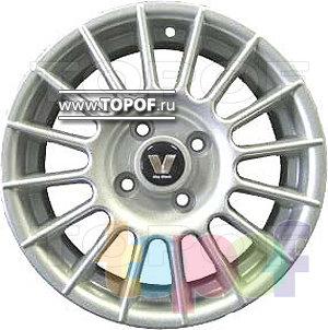 Колесные диски Виком АРТ 143. Изображение модели #2
