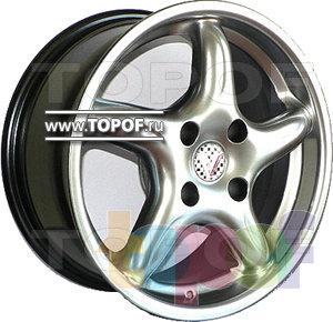 Колесные диски Виком АРТ 151. Изображение модели #1
