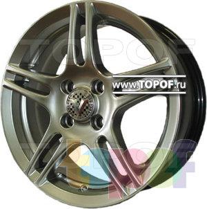 Колесные диски Виком АРТ 1511. Изображение модели #1