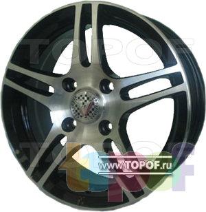 Колесные диски Виком АРТ 1511. Изображение модели #2