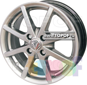 Колесные диски Виком АРТ 1512. Изображение модели #1