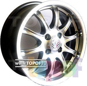 Колесные диски Виком АРТ 155. Изображение модели #1