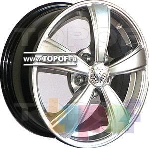 Колесные диски Виком АРТ 158. Изображение модели #1