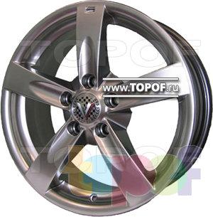 Колесные диски Виком АРТ 166. Изображение модели #1