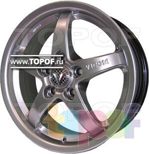 Колесные диски Виком АРТ 168. Изображение модели #1