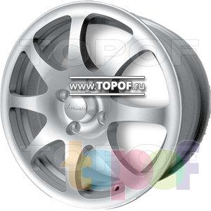 Колесные диски ВСМПО Паллада (светлые). Изображение модели #1
