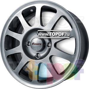 Колесные диски ВСМПО Солярис. Изображение модели #2