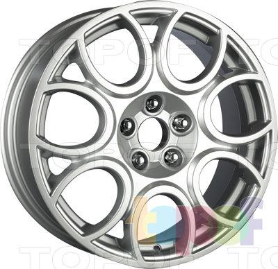 Колесные диски Wiger Sport Power WGS 0405 Бордо. Изображение модели #1