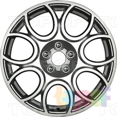 Колесные диски Wiger Sport Power WGS 0405 Бордо. Изображение модели #2