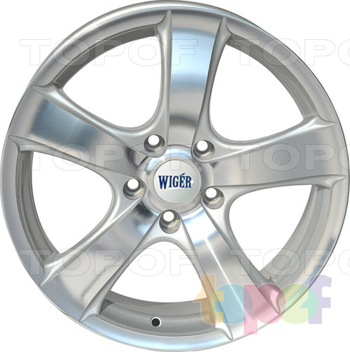 Колесные диски Wiger WGR 0509. Изображение модели #2