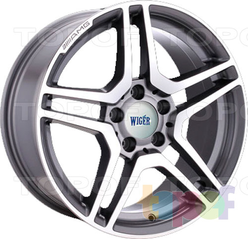 Колесные диски Wiger WGR 1610. Изображение модели #1
