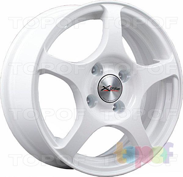 Колесные диски X'trike X-103. Цвет белый