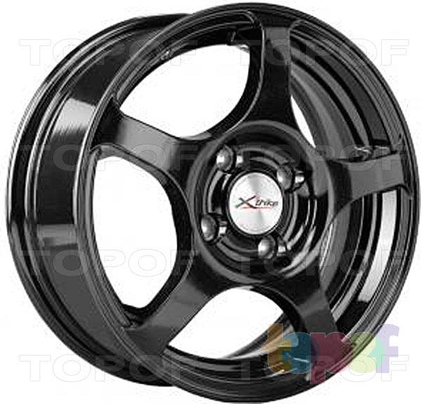 Колесные диски X'trike X-103. Цвет черный