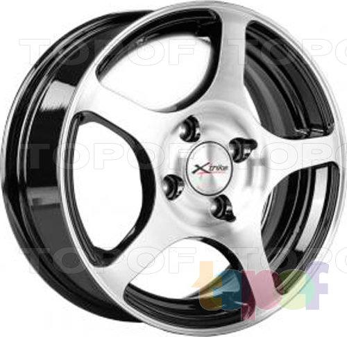 Колесные диски X'trike X-103. Цвет черный полированный