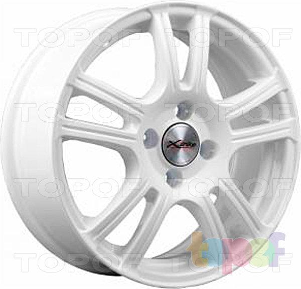 Колесные диски X'trike X-105. цвет белый