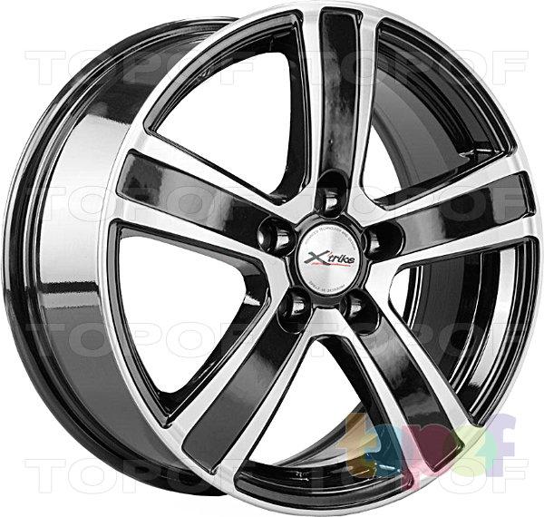 Колесные диски X'trike X-108. Цвет черный полированный