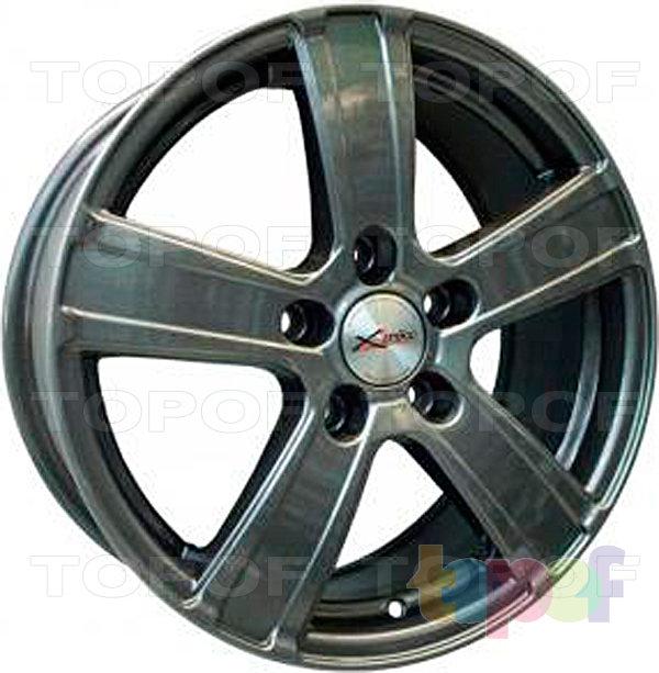 Колесные диски X'trike X-108. Цвет темно серый