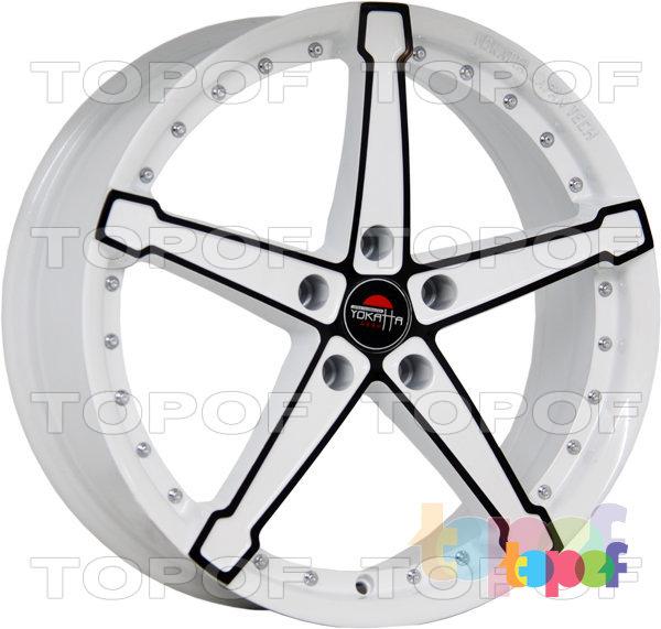 Колесные диски Yokatta Model-10. Цвет W+B