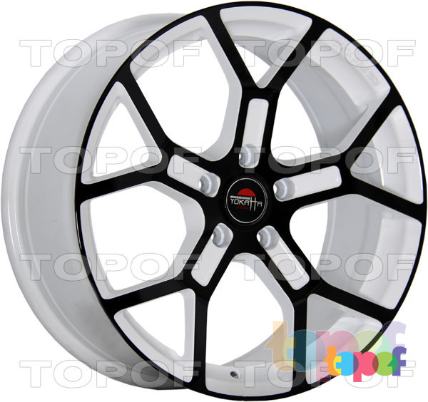 Колесные диски Yokatta Model-19. Цвет W+B