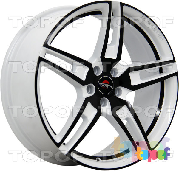 Колесные диски Yokatta Model-21. Цвет W+B+BSI