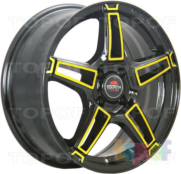 Колесные диски Yokatta Model-35. Цвет BK+Y