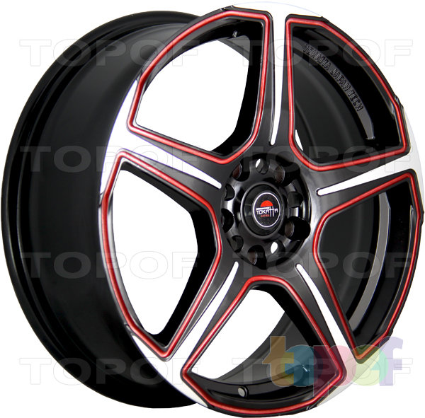 Колесные диски Yokatta Model-4. Цвет MBF+R
