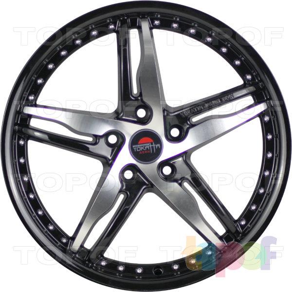 Колесные диски Yokatta Model-40. Цвет черный полированный