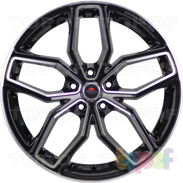 Колесные диски Yokatta Model-42. Цвет черный полированный