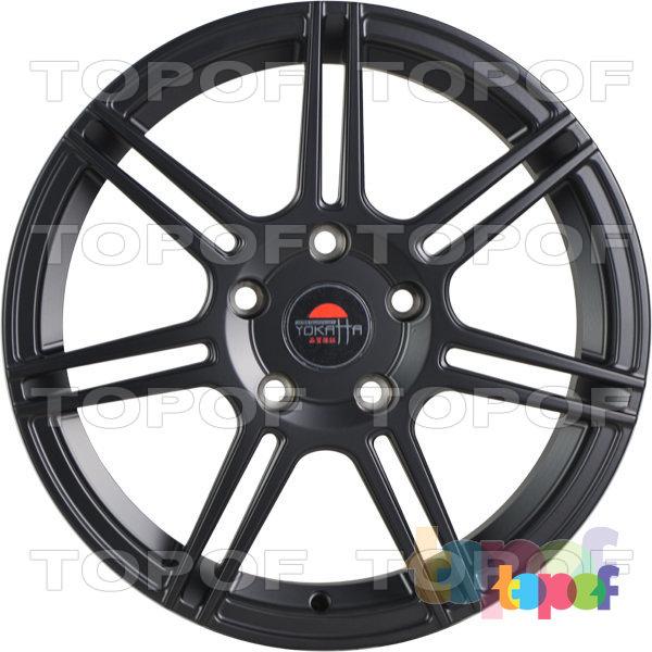 Колесные диски Yokatta Model-501. Цвет матовый черный