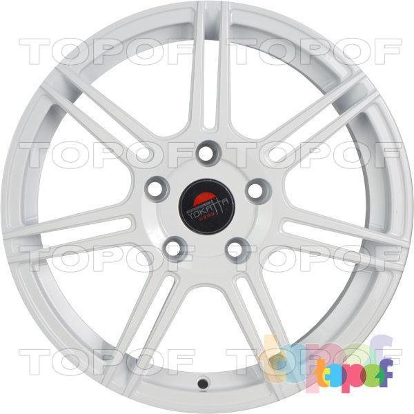 Колесные диски Yokatta Model-501. Цвет белый