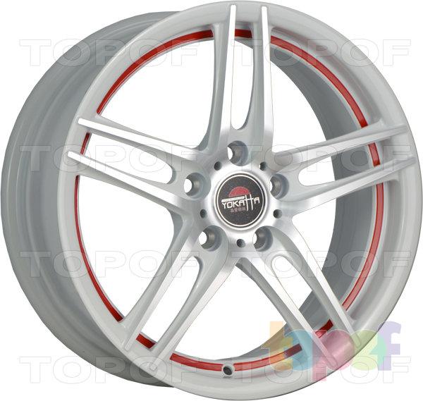 Колесные диски Yokatta Model-502. Цвет BKRSI