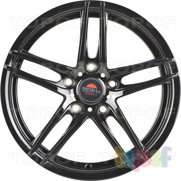 Колесные диски Yokatta Model-502. Цвет черный