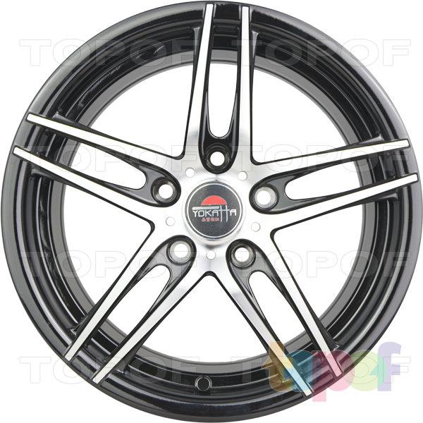 Колесные диски Yokatta Model-502. Цвет черный полированный