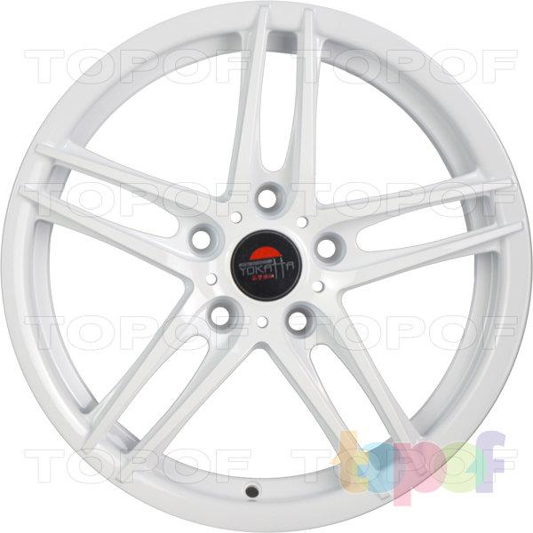 Колесные диски Yokatta Model-502. Цвет белый